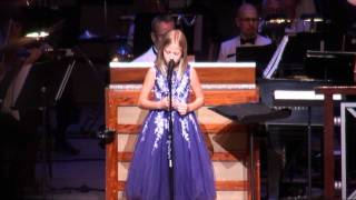 Jackie Evancho:  Impossible Dream at her 2011 Summer Concert tour in Atlanta.