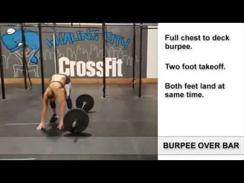 How To Do Burpee Over The Bar