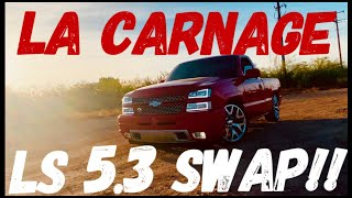 HOW TO DO A COMPLETE NBS 1999-2007 SILVERADO/SIERRA V6 TO V8 LS 4.8 5.3 6.0 SWAP!