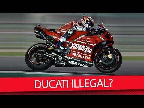 Streitfall: Ist Dovis Ducati Illegal? – MotoGP 2019 (News)