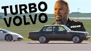 TURBO Volvo SPANKS Lambo, Vette, and MORE!