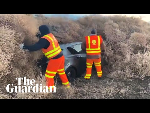 Chuck and Kelly - Police Spend 10 Hours Digging Out Cars After Tumblegeddon