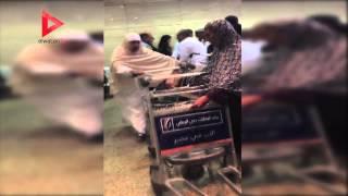 فيديو - مشاجرة بين ركاب في مطار القاهرة