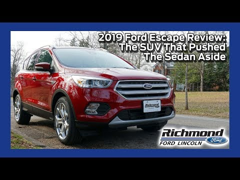 2019 Ford Escape Review: The SUV That Pushed The Sedan Aside