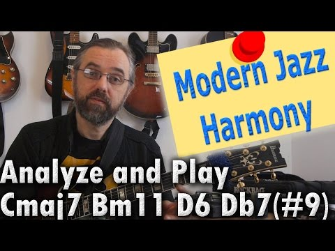 Modern Jazz Harmony - Chord Progressions and Analysis