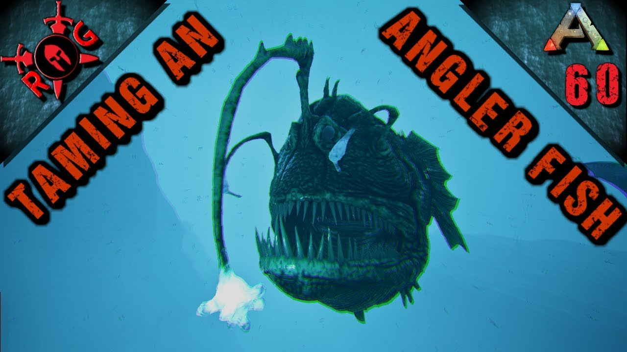 Ark angler fishin 39 taming an angler fish ep 60 vanilla for Angler fish ark