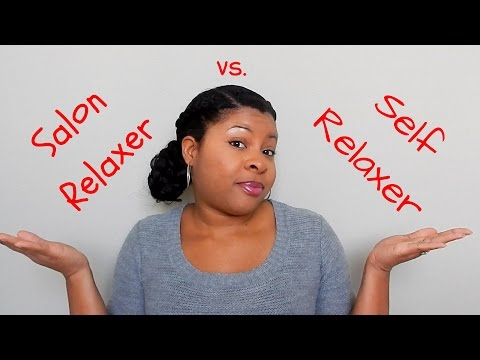 Healthy Relaxed Hair Journey Tip: Do you need to self relax to see results?