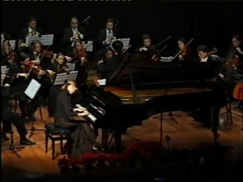 W. A. Mozart: Piano concerto in E flat Major, K. 271, Sara Rustja Turniski, piano (2nd part)