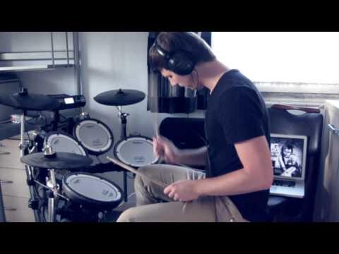Asking Alexandria - Breathless (Drum Cover)