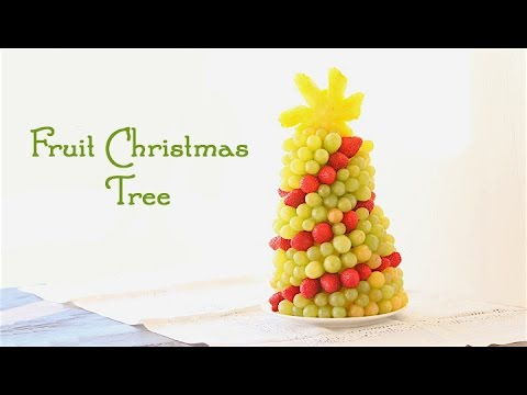 How to Make Fruit Christmas Tree - HOLIDAY FOODIE COLLAB