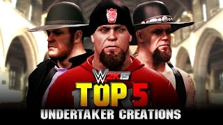 WWE 2K15 - The Undertaker Top 5 Attires - Community Creations