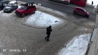 Кадры оперативного видео по делу об убийстве казанского нумизмата