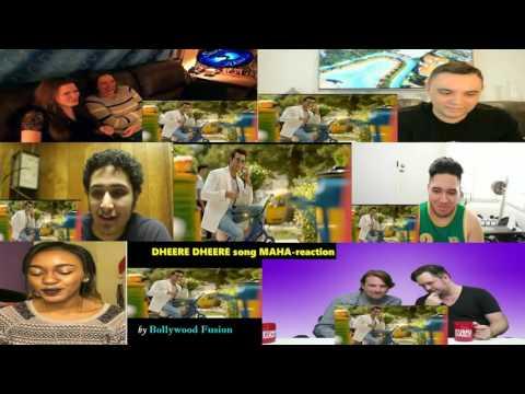 DHEERE DHEERE SE ZINDAGI Song MAHA-reaction || *features* Hritik Roshan & Sonam Kapoor