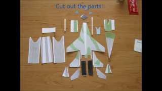 Mig-29 flyable paper plane tutorial