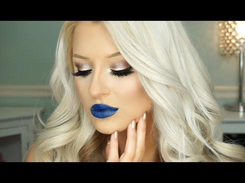 Neutral Glam & Bold Lip Makeup Tutorial - 동영상