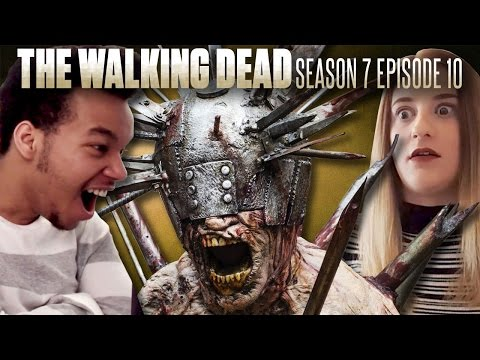 "The Walking Dead: Season 7 Episode 10 ""New Best Friends"" Fan Reaction Compilation!"