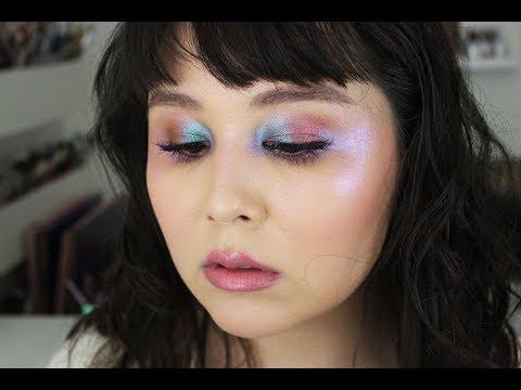 Prismatic Topaz Tutorial   Dawn Eyes Cosmetics   Jessica Lee Rojas Kent
