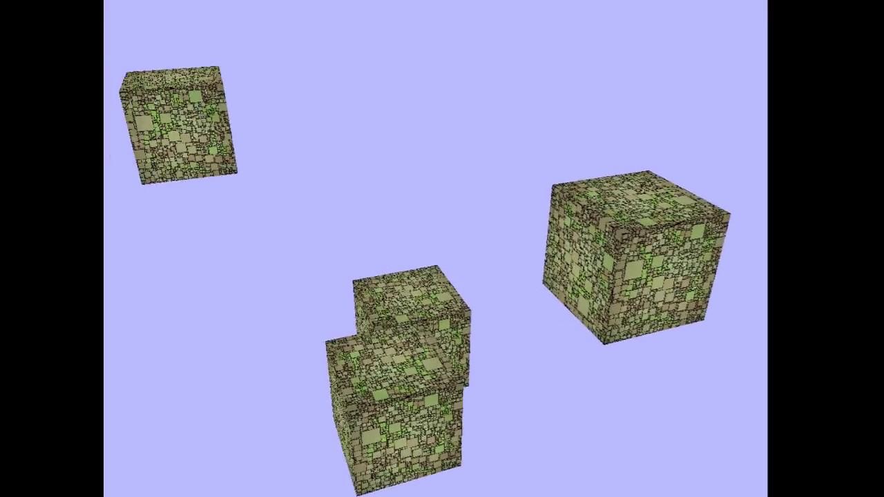 [openGL] Rust gfx-rs 01 Cubes