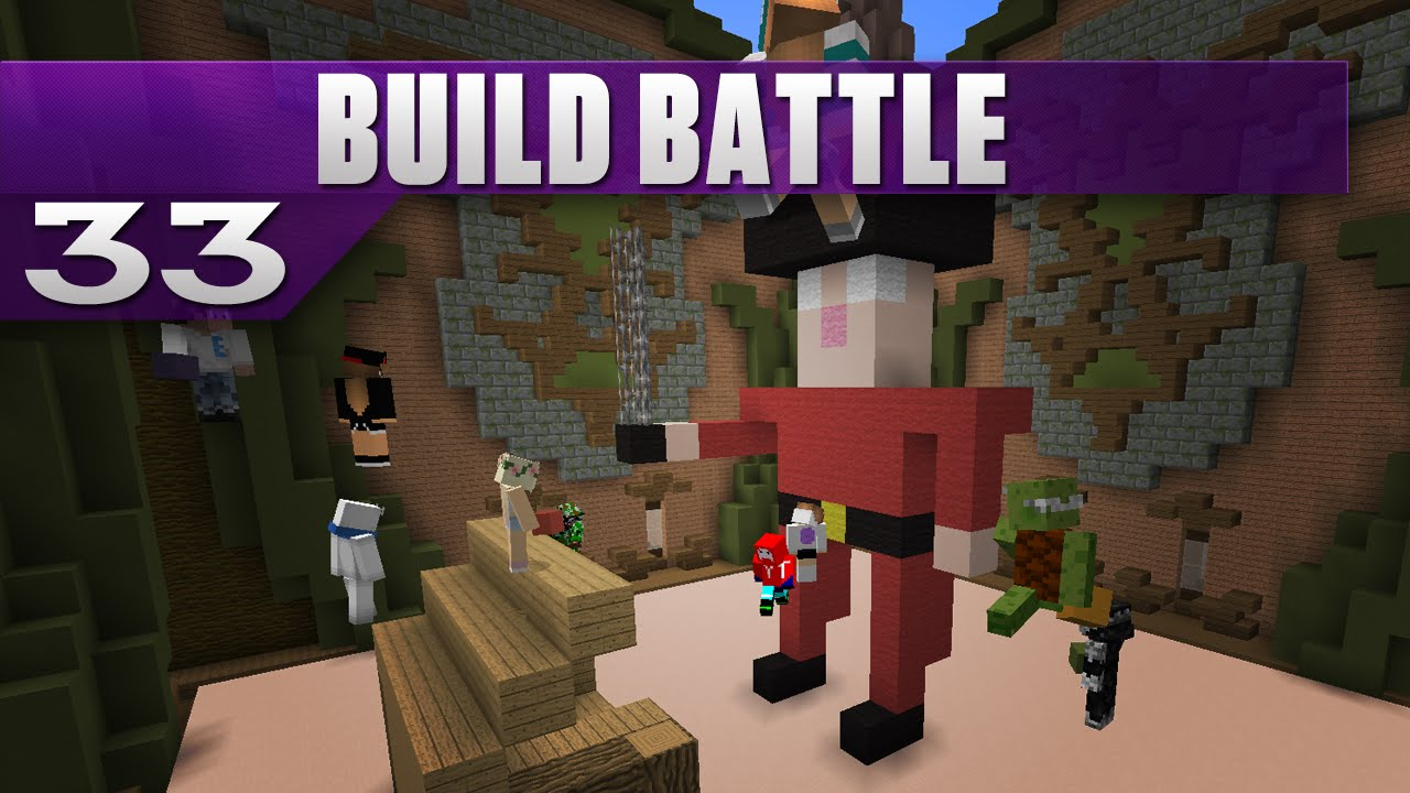 Mincraft Build Battle Free Game
