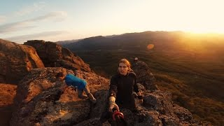 WOUT-trip №1 p.2 Гора Индюк, скалолазание, скала Киселёва, ВОРЫ, Краснодар, граница!