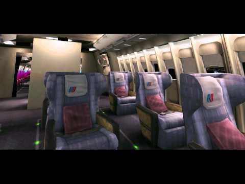 Default 747-400 Inside Future X-Plane 10