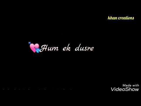 Aasman Me Jab Tak Sitare WhatsApp Status Song