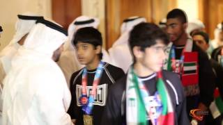 استقبال حافل لبعثة الإمارات المشاركة في بطولة أمريكا المفتوحة للجوجيتسو
