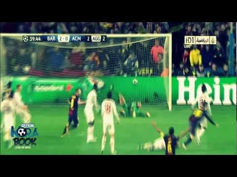 FC Barcelona Vs Ac Milan 4-0 All Goals & Match Highlights In HD 13-03-2013