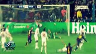 FC Barcelona Vs Ac Milan 4-0 All Goals & Match Highlights In HD 13-03-2013