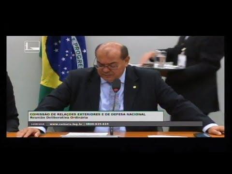 RELAÇÕES EXTERIORES E DE DEFESA NACIONAL - Reunião Deliberativa - 14/08/2018 - 10:38