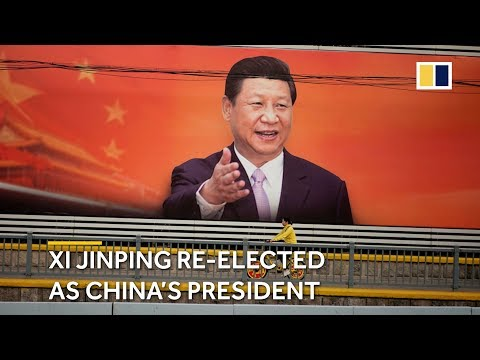 Xi Jinping re-elected as China's president