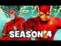 The Flash SEASON 4 & Best Season 3 EASTER EGGS