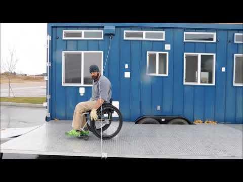 Tiny Idahomes Custom Built Wheelchair Accessible Model