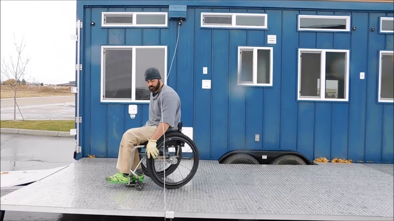 Tiny Idahomes Custom Built Wheelchair Accessible Model