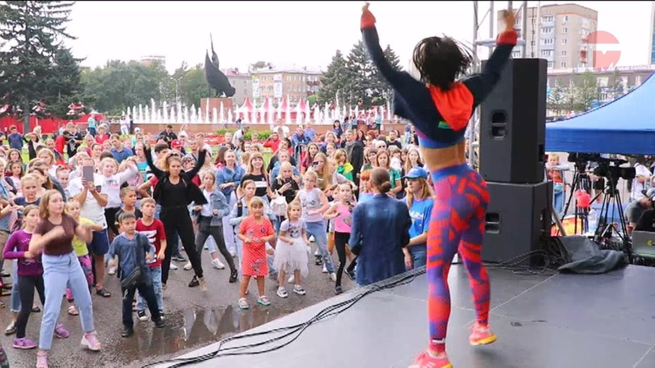 В Уссурийске прошёл всероссийский танцевальный фестиваль от канала ТНТ