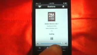 Public Radio Tuner -- TapTilt.com Review
