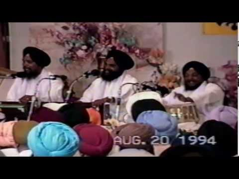Bhai Harjit Singh Gurdeep Singh (Delhi Wale) - Gurdwara Scarborough, Ontario - 20 August 1994