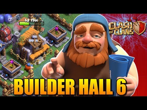 Clash of Clans: BUILDER HALL 6 UPGRADE! Builder Base Lets Play #19
