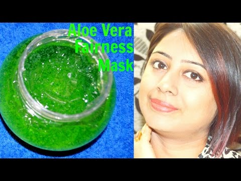 Aloe Vera Fairness Face Mask || Naturally Removes Dark Spots and  Pigmentation