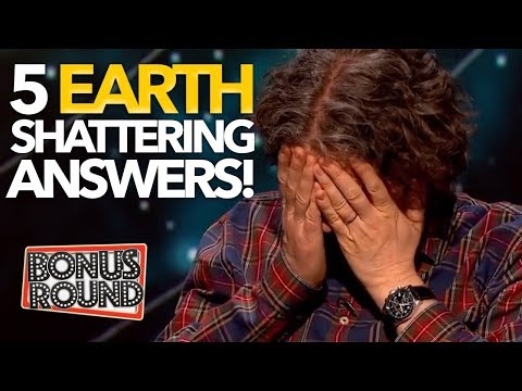 5 EARTH FACTS THAT WILL BLOW YOUR MIND! QI With Stephen Fry & Sandi Toksvig