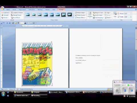 Insertar Imagenes En Word 2007 Wmv