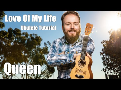 Love Of My Life - Queen (BOHEMIAN RHAPSODY UKULELE TUTORIAL) thumbnail