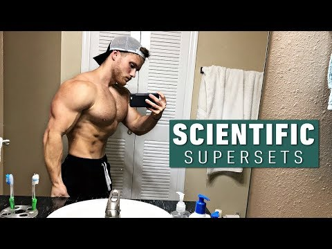 The Most Scientific Way to Use Supersets (New Research)