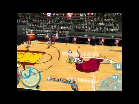 NBA 2k12 Ipad Gameplay