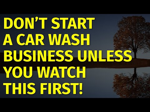 How To Start A Car Wash Business | Including Free Car Wash Business Plan Template