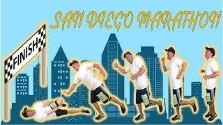 I ALMOST DIED RUNNING THE SAN DIEGO MARATHON! VLOG