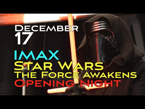 STAR WARS Opening Night at the San Jose IMAX Theater!