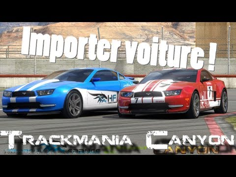 voiture trackmania canyon