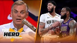 AD missed his chance for an admirable breakup, Colin talks NBA as a 'soap opera' | NBA | THE HERD