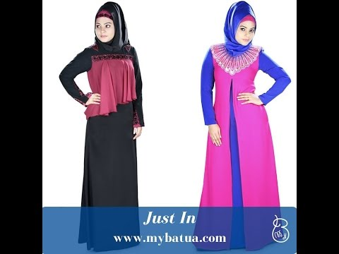 Stunning Abayas- Look Modest & Beautiful